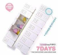 10PCS/Lot  Free Shipping gift for girlfriend,birthday gift,Christmas gift,portable storage box,portable pill box