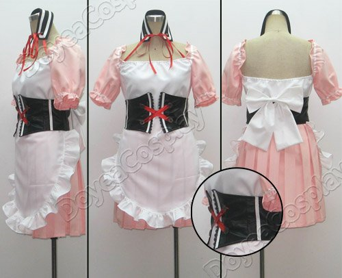 Haruhi Suzumiya Mikuru Asahina Cosplay Costume Holloween Wholesale Retail(China (Mainland))