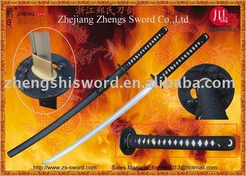 Handforged samurai sword