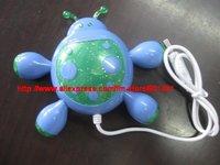 Free shipping! Popular Christmas Gift USB2.0 4 Port Hub, 4 Port USB Hub