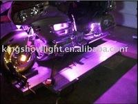 6pc PURPLE LED FLEXIBLE LED STRIP light  MOTORCYCLE LIGHTS