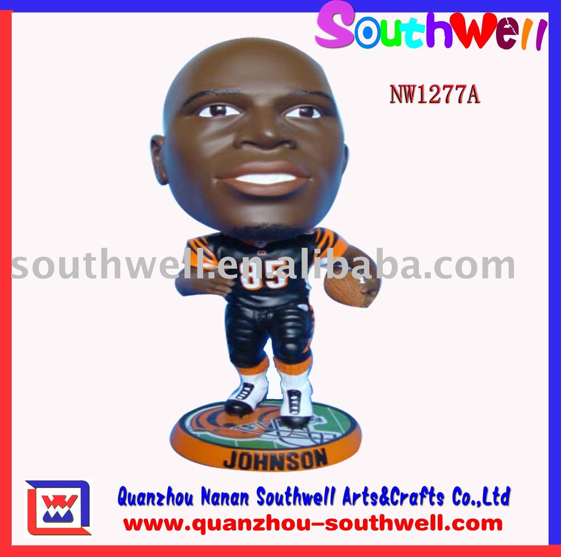 Custom Bobble Heads of Sport Player----- NW1227A(China (Mainland))