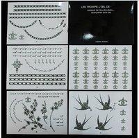 60pcs/lots brand new Fashion Art tattooing tattoo sticker hot sale