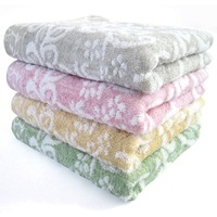 20pcs Brandnew Bamboo Fibre Towels 100g Super Soft Hand Face Washcloths With Untwisted Yarn Jacquard  34*76cm 070002