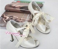 1 pair/lot Bridal Classic Nature Style Exquisite Design Evening/Wedding/Party Shoes A216W