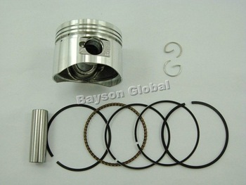 Free Shipping 110cc Horizontal Engine Piston Ring Set Dirt Bike Parts @80008