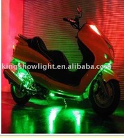 6 pcs green  led flexible motorcycle Ultimate Engine light with On/Off Remote