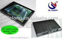New products VGA AV 12.1inch lcd touch monitor