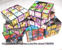 50 pcs Cartoon Cube 5.5x5.5x5.5 Puzzle +free shipping
