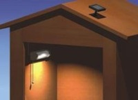 Wholesale Solar shed wall lamp Solar indoor light Good for house using 20pcs/lot Free shipping