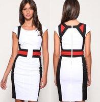 платье Коктейль-приём платья кружево рукавов бренда платье недоуздок