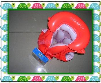 Wholesale Free shipping 48pcs/lot luxury Inflatable life jacket. Baby air jacket, life vest, floatation jacket,High quality