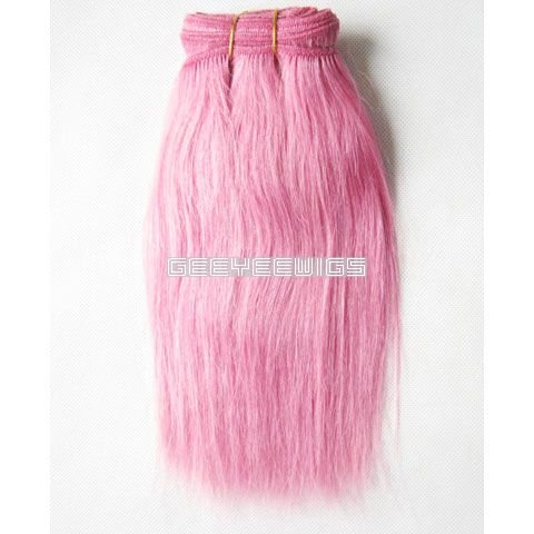 Pale Pink Human Hair Extensions 31