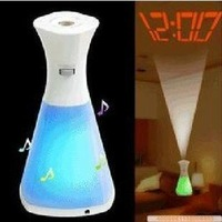 bottle shape LED shadow Clock free shipping