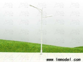 HO 10pcs mdoel lamp, T66 lamppost for train layout HO scale. high quality cooper lamp