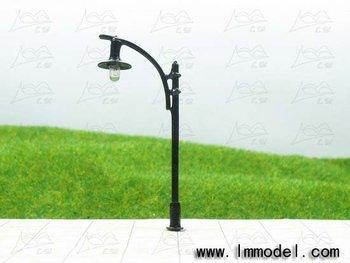 mdoel lamp, T68 lamppost for train layout HO scale