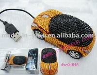 Crystal pc mouse/jeweled mouse/crystal usb mouse/computer mouse
