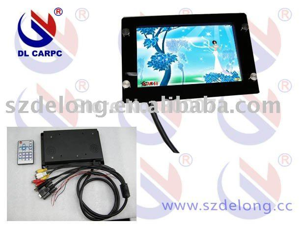 "30% UPS shipping hot sell!! 7"" lcd open frame touch monitor with VGA+LED display(China (Mainland))"