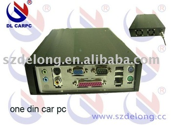 30% discount shipping the cheapest one din car pc with 160GB HDD and 1G RAM