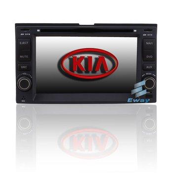 Car DVD Player Radio GPS Navigation MP3 IPOD With 6.2'HD LCD For Kia Rio / Optima