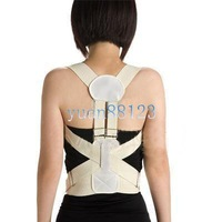 Free shipping --wholesale Posture Corrector Support Belt Brace Magnetic Therapy