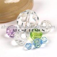 36pcs 30mm Acrylic Beads / Diamond Bead / ball facets beads