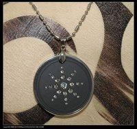 classic design-crystal scalar energy quantum  pendants with ENERGY BEADS&gift!!