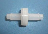 """1/4"""" PVDF VITON diaphragm check valve"""