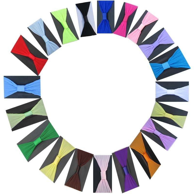 Free shipping!! 21colors 2.5'' pantyhose nylon headband can mix order(China (Mainland))