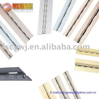 gold color,steel long piano hinge