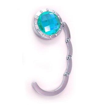 Handbag Holder Purse Bag Hook Pocket  Hanger blue 102061