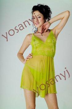 NEW * Sexy green ladies Underwear, Camisole Mini Dress