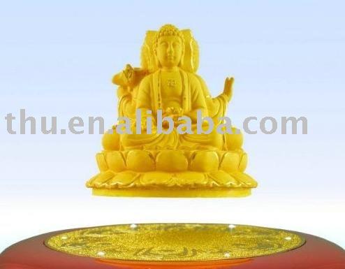 suspenso no ar, oriental santos três. artesanato budismo, ofícios do metal, ouro puro e electrodeposição, pureza de ouro para 999%(China (Mainland))