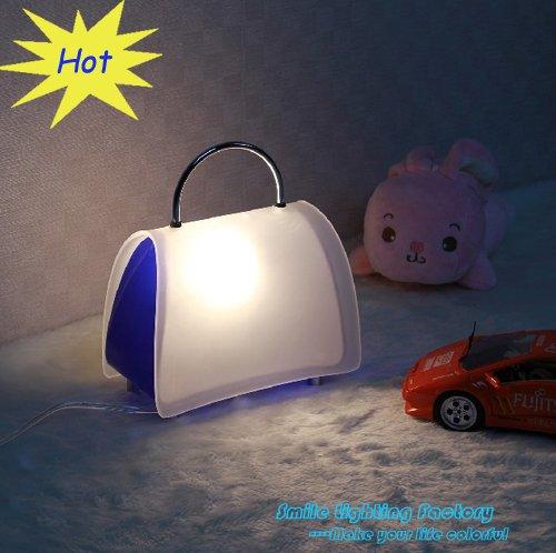 Livraison gratuite l'arrivée. table feux luminaire créatives. moderne, corée. dame style sac à main de table lampe de bureau
