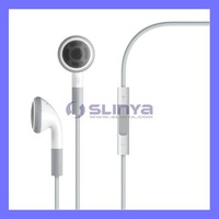Headphone with Mic & Volume Control For iPhone iPod