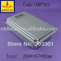 (260X167X82  mm)  aluminum electronic enclosures    for  aluminum enclosure  AWP365