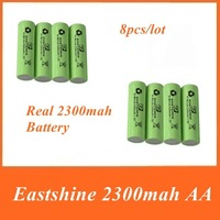 Mail Free + 1Set  8* AA 2500mAh + 8* AAA 1000mAh NiMH Ni-MH Rechargeable Recharge Battery Betteries Pack