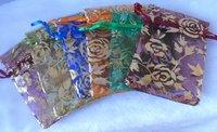 Beautiful Yarn Jewelry Bag 10*12cm.Free shipping