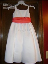 childrens size 6 Davids Bridal Bridesmaid dress(China (Mainland))