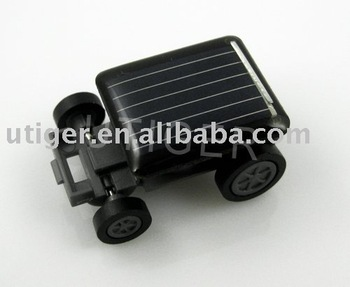 The World Smallest Solar Powered Toy Car