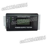 15pcs Freeshipping X 100%New  PC LCD Power Supply Tester 20/24 Pin PSU ATX SATA HDD