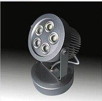 5*1W LED wall light;dia 75*155mm;AC90V-AC260V input;RGB/Y/W/WW color optional