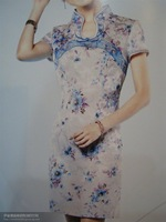 Charming Chinese Jacquard oriental lady tang suit all size TS-182