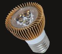 3*1W E27 LED spotlight;dia 50*75mm