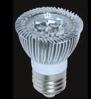 3*1W E27 LED spotlight;dia 50*65mm;90lm/w,cold white color