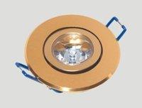 1*1W led ceiling light;AC110V/220V input;78*35mm;open hole:65mm;cold white color