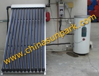 Pump stations+ 400L Tank+Collector+High-pressure  solar collector