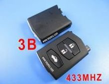 mazda remote 3 button MHZ 433(China (Mainland))