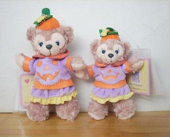 Original Hot Sell Duffy Bear ShellieMay,Hidden Mickey Face,2010 Holloween pumpkin