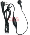 Earpiece Mic for Motorola Radios 2PIN GP68 GP300 2000